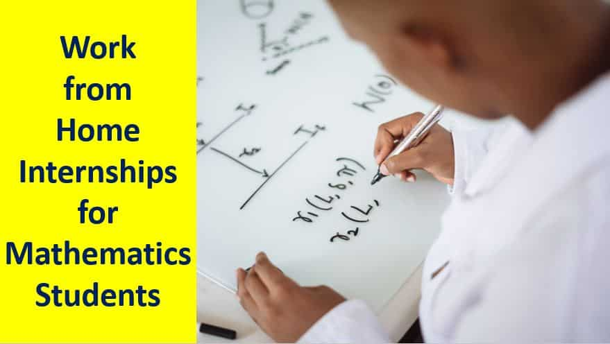 Work-From-Home-Internships-For-Mathematics-Students