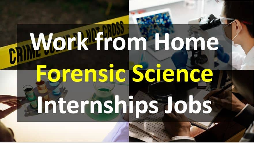Work-From-Home-Forensic-Science-Internships